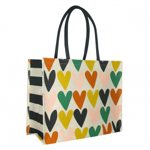 Waitrose Caroline Gardner Hearts Shopper